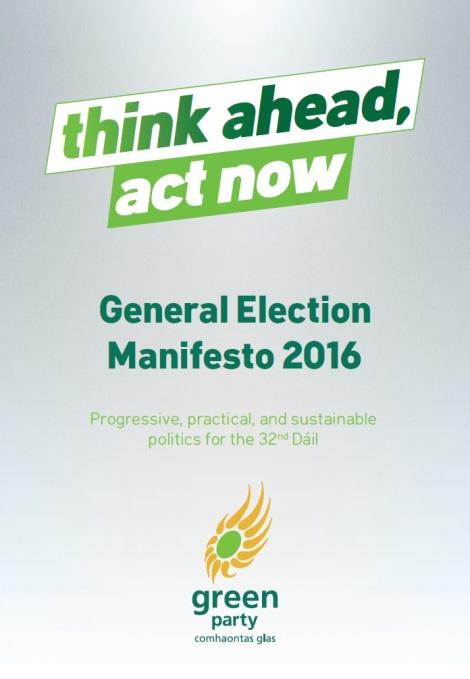 Green Party Manifesto 2016 I